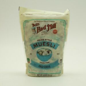Bobs Red Mill Muesli Paleo Style 14 oz BAG Cold Cereal Low Carb Grain Free