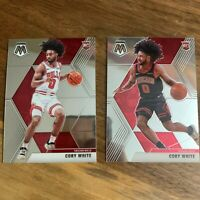 Lot of 2 Coby White 2019-20 #211 RC Rookie Chicago Bulls
