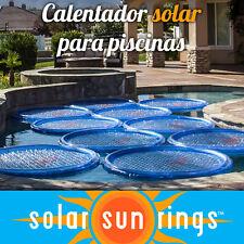 Solar Sun Rings aro solar calentador piscina pool heater poolheizung