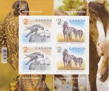 CANADA 2005 Souvenir Sheet 1692b Wildlife (Falcon and Horse) - MNH