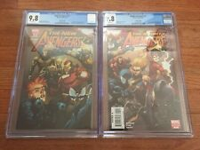 New Avengers 27 & Mighty Avengers 1 - Connecting 1:100 Yu Variant Cover CGC 9.8