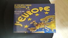 JEUX DE SOCIETE J'EUROPE