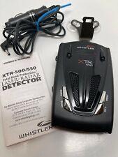 Whistler Xtr 550 Radar Detector.