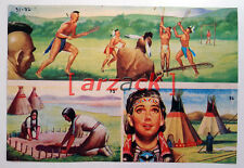 Album LONTANO WEST 1 DARDO 1962 - 4 figurine 91 92 95 96