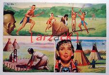 Album LONTANO WEST 1 DARDO 1962 - 4 figurine 91 92 95 96