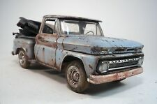 1965 Chevy Pickup Pro Built Weathered Barn Find Junkyard Custom 1/25 Revell