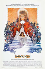 R331 Labyrinth 1986  Movie-Print Art Silk Poster