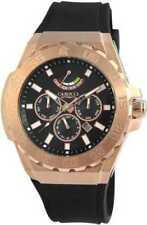 Relojes de pulsera con fecha automática de goma
