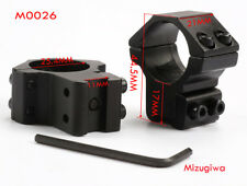 """Pair Hunting Medium Profile 1"""" Ring 11mm Rail Scope Mount For Rifle Scope Torch"""