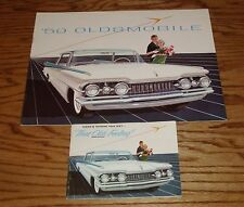 Original 1959 Oldsmobile Full Line Regular & Deluxe Sales Brochure Lot of 2 59