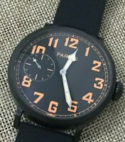 Parnis like Zenith Pilot manual winding carica manuale flieger aviator like new