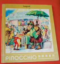 Pinocchio Livre enfant vintage conte Touret illustré vintage collection Carillon