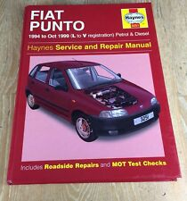 buy fiat punto haynes car service repair manuals ebay rh ebay co uk Fiat Bravo 2018 Fiat Punto