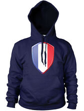 French Badge Flag Rugby 6 Nations Hoodie Hoody France Sport Man Woman Kid JA117