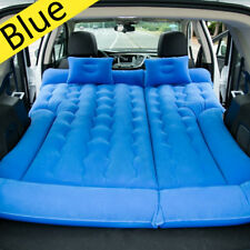 Blue SUV Car Inflatable Mattress Travel Back Seat Air Bed Durable Camping