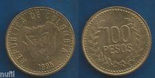 Colombia 100 Pesos 1995 KM# 285.2  Ø 23 mm.
