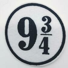 """9 3/4 Harry Potter  Patch - Embroidered Iron On Patch 3 """" Hogwarts Express"""
