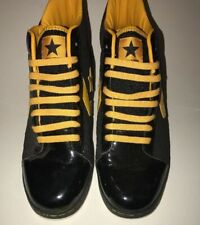 Converse Dwyane Wade High Top Size 9.5 Black and Yellow Limited Edition