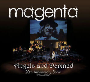 MAGENTA - ANGELS AND DAMNED SEALED 2 CD + 2 DVD 2021 20TH ANNIVERSAY SHOW