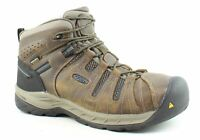 KEEN Mens Flint Ii Cascade Brown/Orion Blue Safety Shoes Size 12 (2E) (1485964)