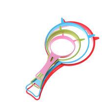 New listing 4pcs Plastic Kitchen Strainer Sieve Colander Set Four Sizes Diy Kitchen Tool Jb