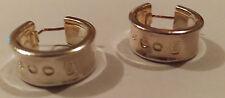 Tiffany Co. Sterling Silver Hoop Fine Earrings without Stones