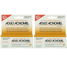 2 Pack Adult Acnomel Tinted Cream Acne Medication - 1.30 oz (36 g) Each
