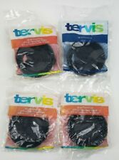 Lot of 4 TERVIS BLACK Travel LID for 16 oz NEW