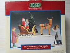 LEMAX Décorations NOËL - Village Collection - Traîneau du Père Noël 93303