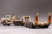 SEMI-REMORQUE DE TRANSPORT LOURD US. (C-HET) - KIT HOBBY BOSS 1/35 N° 85519