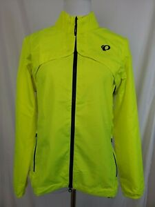 PEARL iZUMi Quest Barrier Convertible Cycling Jacket Womens XS S Med Yellow NWT