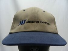 MORRISON TIMING SCREW - EMBROIDERED - ADJUSTABLE BALL CAP HAT!