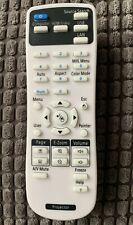 EPSON PROJECTOR EB-X11 EB-X11H EB-X12 EB-X120 EB-X130 REPLACEMENT REMOTE CONTROL
