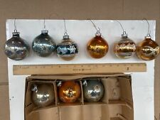 antique mercury Germany glass christmas ornaments Pre 1946