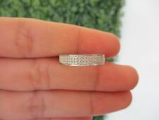 .34 Carat Diamond White Gold Half Eternity Ring 18k HE67 sep