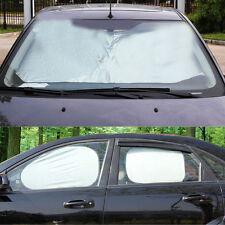 6PCS coche todo-en torno a Protector Solar Parasol plegable ventana Cubierta UV bloque Sunproof