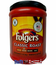 Folgers Classic Roast Medium Roast Ground Coffee 320g Tub American