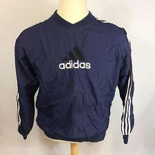ViNtAgE Adidas 90s Windbreaker Lined Big Logo M CoAt JaCkEt Jumper Soccer