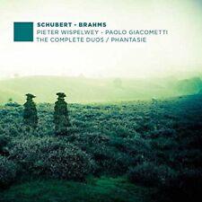 Pieter Wispelwey - Schubert / Brahms: The Complete Duos / Phantasie [CD]