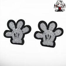 Parche lentejuelas guante Mickey Mouse