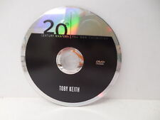 Toby Keith Country Western Music DVD NO CASE 20th Century Masters