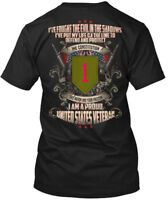 Veteran Recovered 1st Infantry Division - I Am A Proud Hanes Tagless Tee T-Shirt