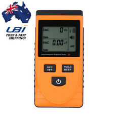 AU! Digital LCD EMF Gauss Meter Electromagnetic Radiation Detector Tester Test