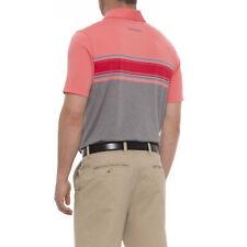 New $52 Mens Skechers Gogolf Links Strip Polo Shirt, size Xl