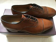 Johnston&Murphy, Melton, tan, size 9.5, genuine leather, new in box