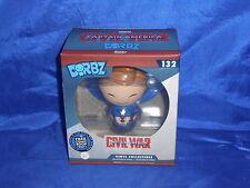Dorbz Steve Rogers #132 FCBD Exclusive Captain America Unmasked Open Funko 2016