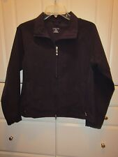 Land's End Womens size S 6-8 Jacket Navy Zippered Front 2 Pockets