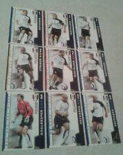 Tarjetas de disparar fuera 2004/05 (04/05) - Fulham juego completo de 18 Tarjetas