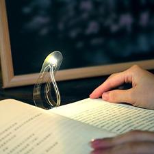 Funny Mini Reading Lamps Camping Nightlight Bookmark Light LED Ultra Thin