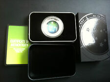 2013 $5 Southern Skies Pavo Curved Colour 1oz Silver Proof Coin